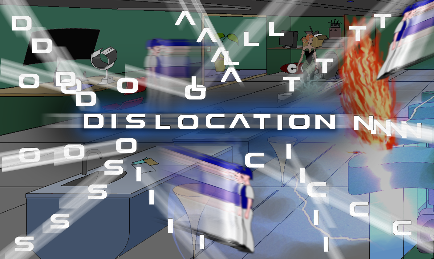 Zoomed screenshot of Dislocation