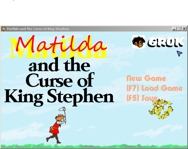 Zoomed screenshot of Matilda and the Curse of King Stephen