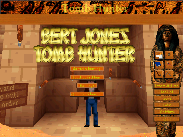 Screenshot of Tomb Hunter: Ramitupem