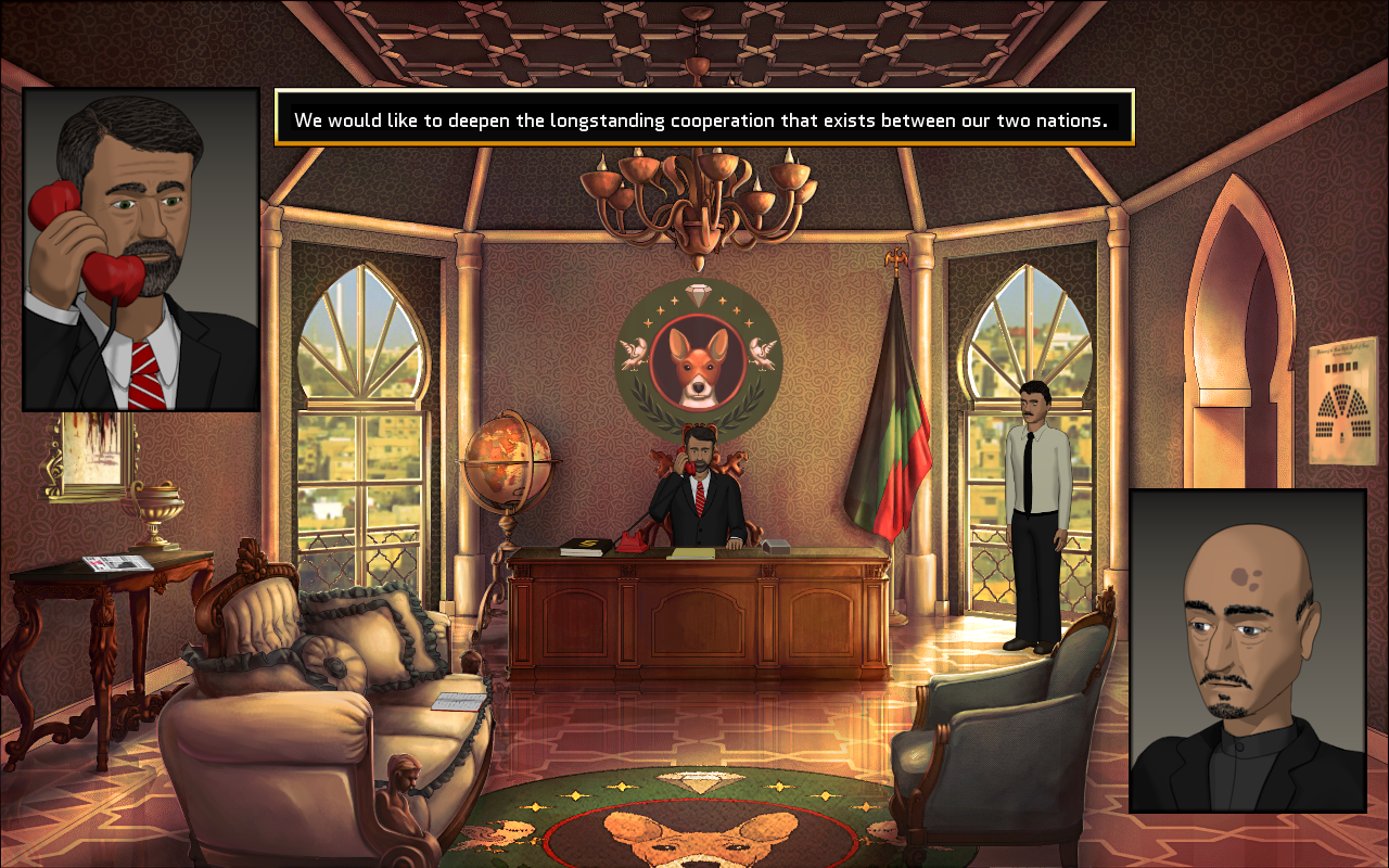 Zoomed screenshot of Rogue State