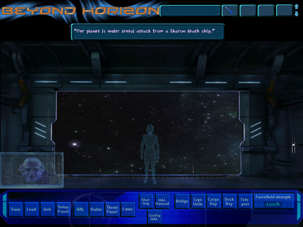 Screenshot of Beyond Horizon