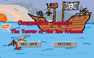 Screenshot of Oceanspirit Dennis: The Terror of the Ice Princess