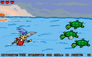 Screenshot 2 of Oceanspirit Dennis: The Terror of the Ice Princess