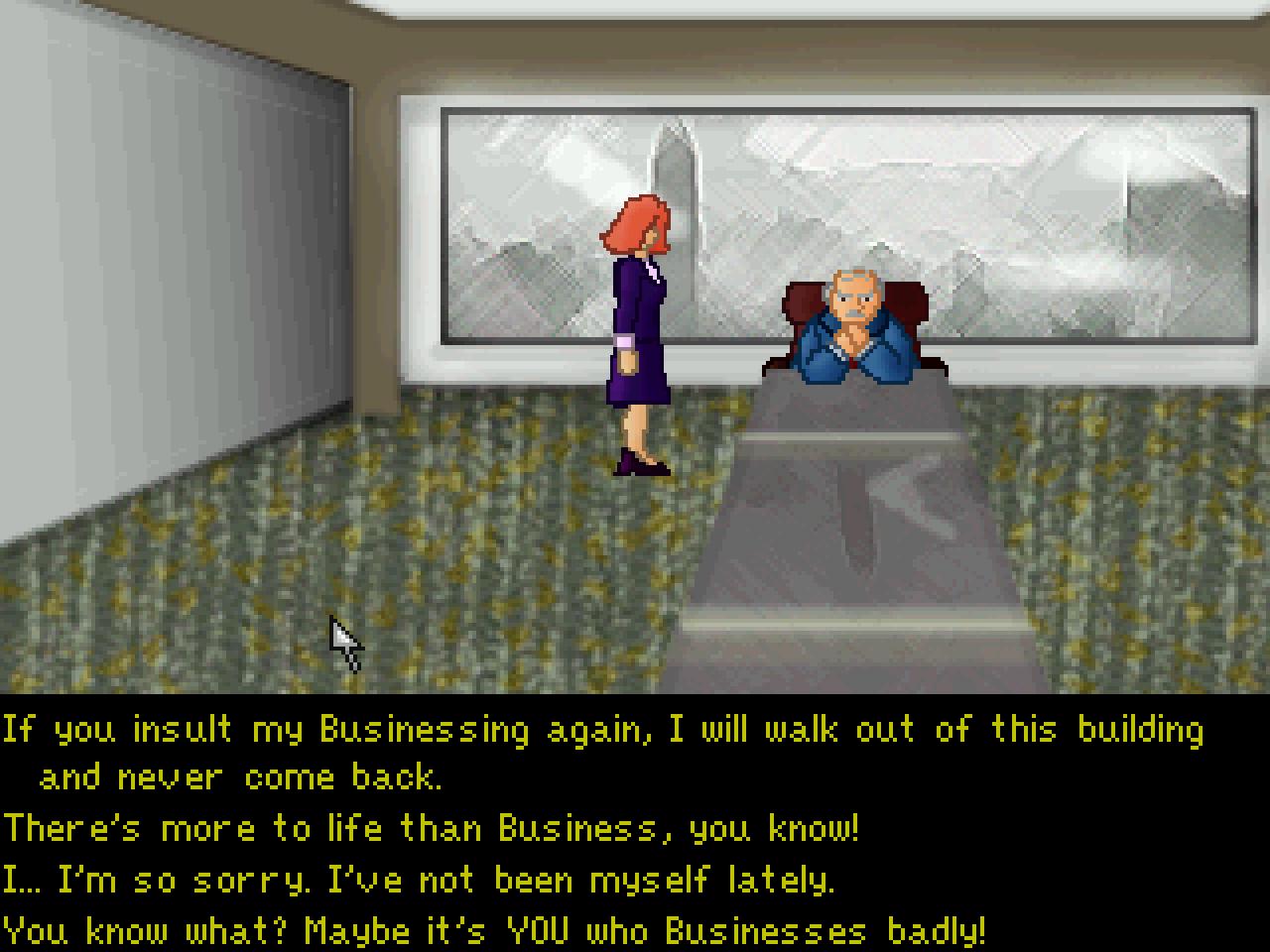 Screenshot of An Anxious Awakening