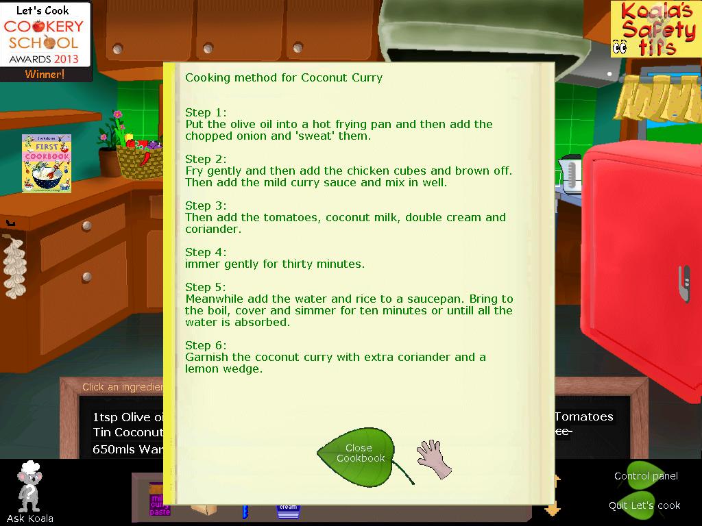 Screenshot 3 of Let's Cook: with Koala width=