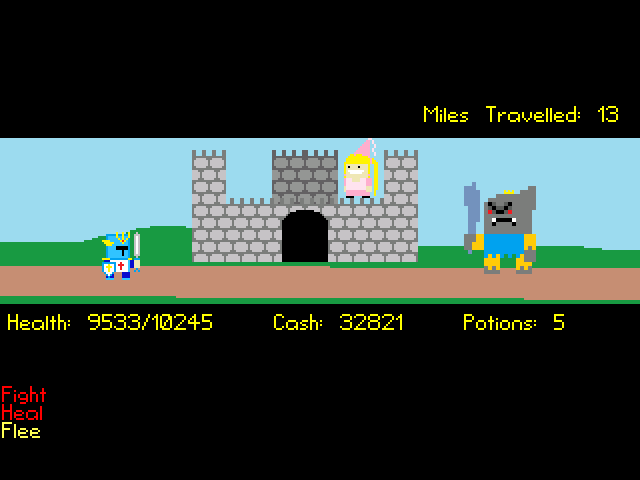 Screenshot 3 of Pompadour Pete: On The Road To Goblin Keep width=