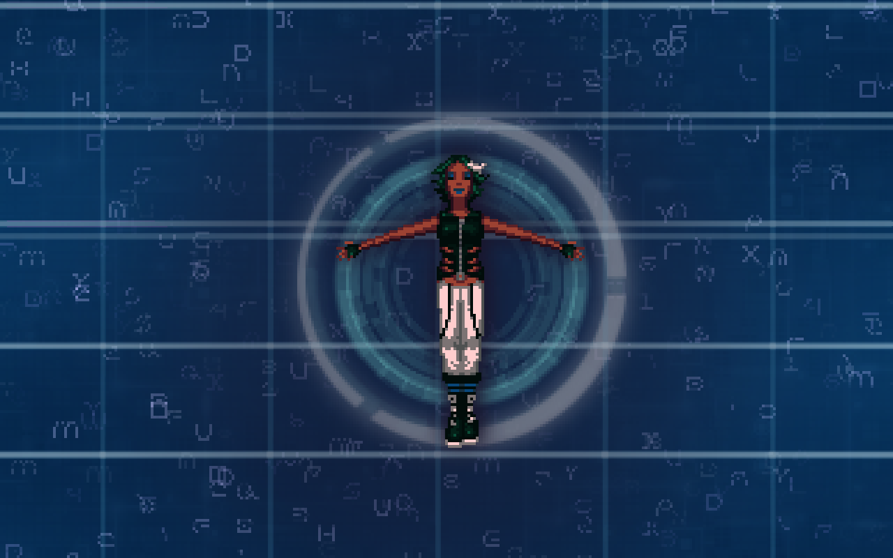 Zoomed screenshot of Technobabylon