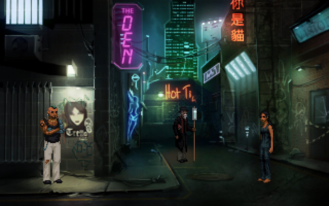 Screenshot 2 of Technobabylon