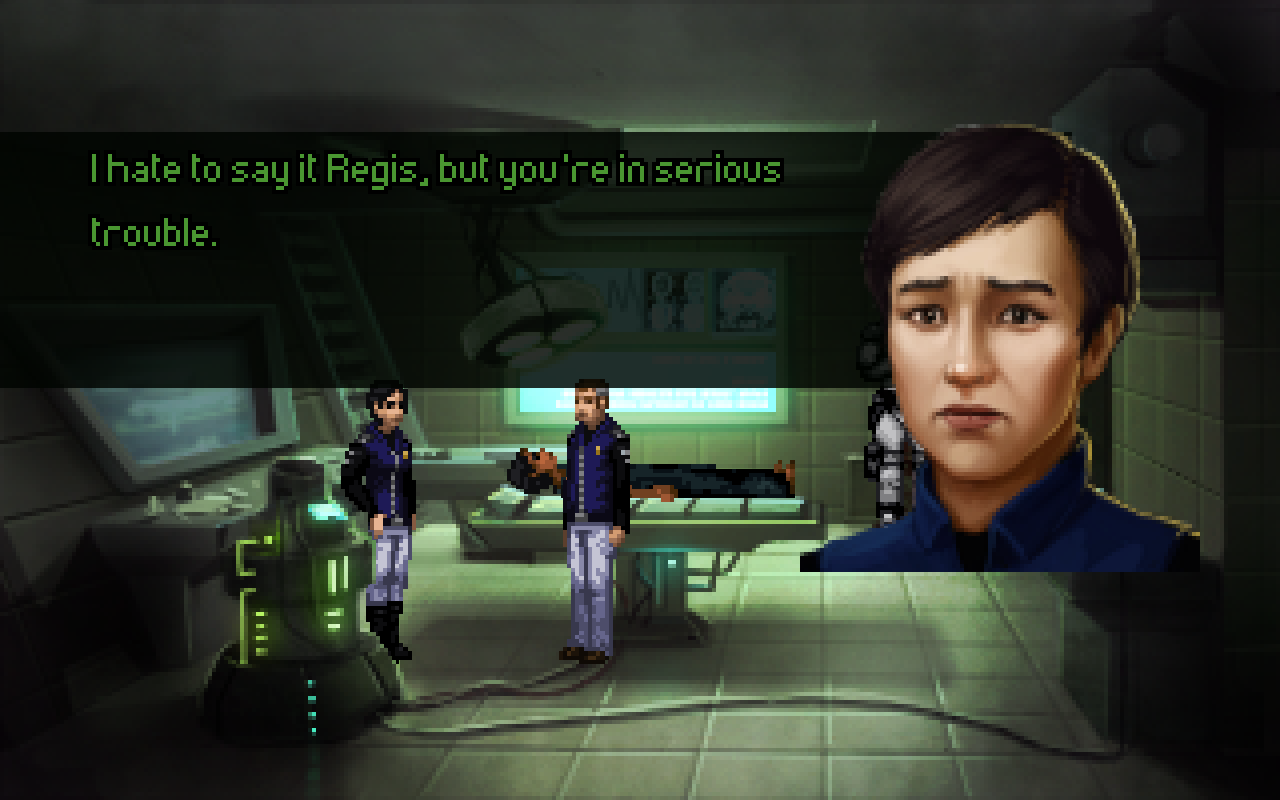 Screenshot 3 of Technobabylon