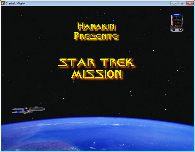 Zoomed screenshot of Star trek Mission