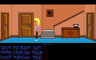 Screenshot 3 of Maniac Mansion Mania 90: Packing the suitcase width=