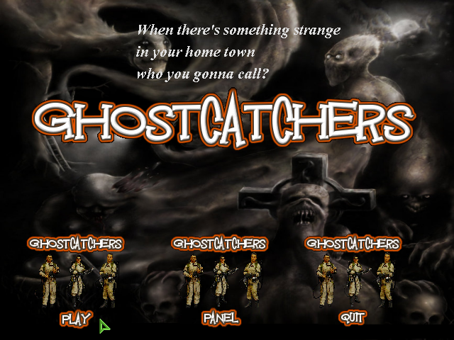 Zoomed screenshot of GHOSTCATCHERS