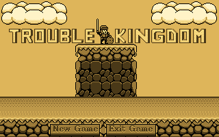 Zoomed screenshot of Trouble Kingdom