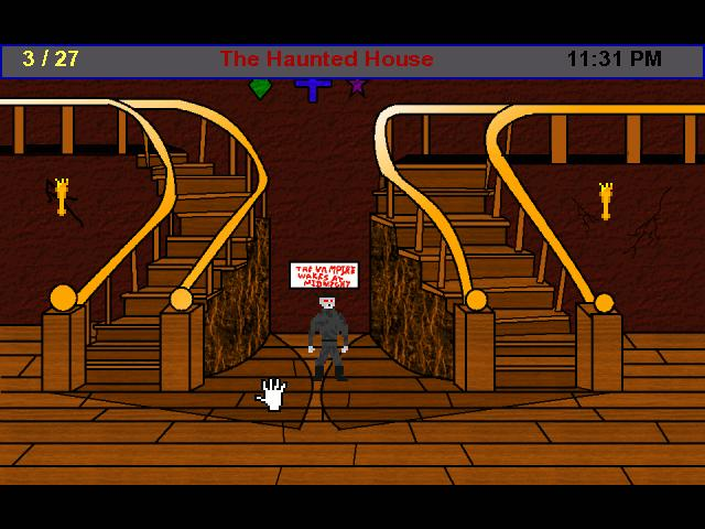 Screenshot of The Haunted House
