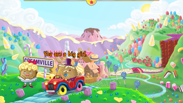 Zoomed screenshot of Toffee Trouble in Creamville