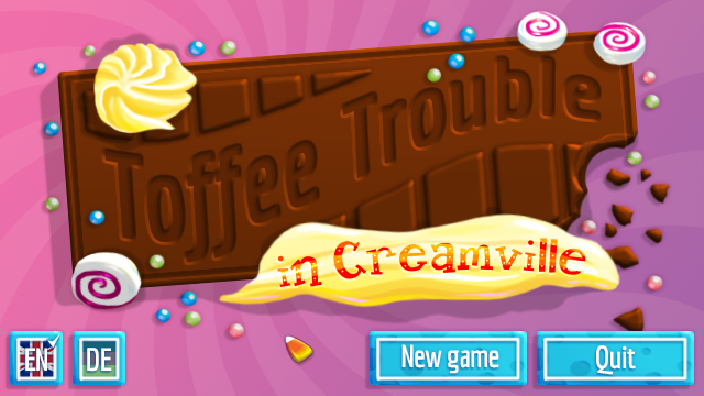 Screenshot 2 of Toffee Trouble in Creamville width=