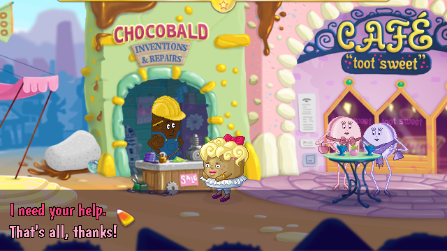 Screenshot 3 of Toffee Trouble in Creamville width=