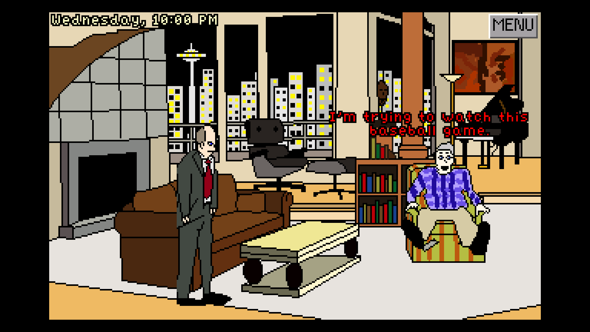 Screenshot of Frasier Crane:  Seattle Rampage