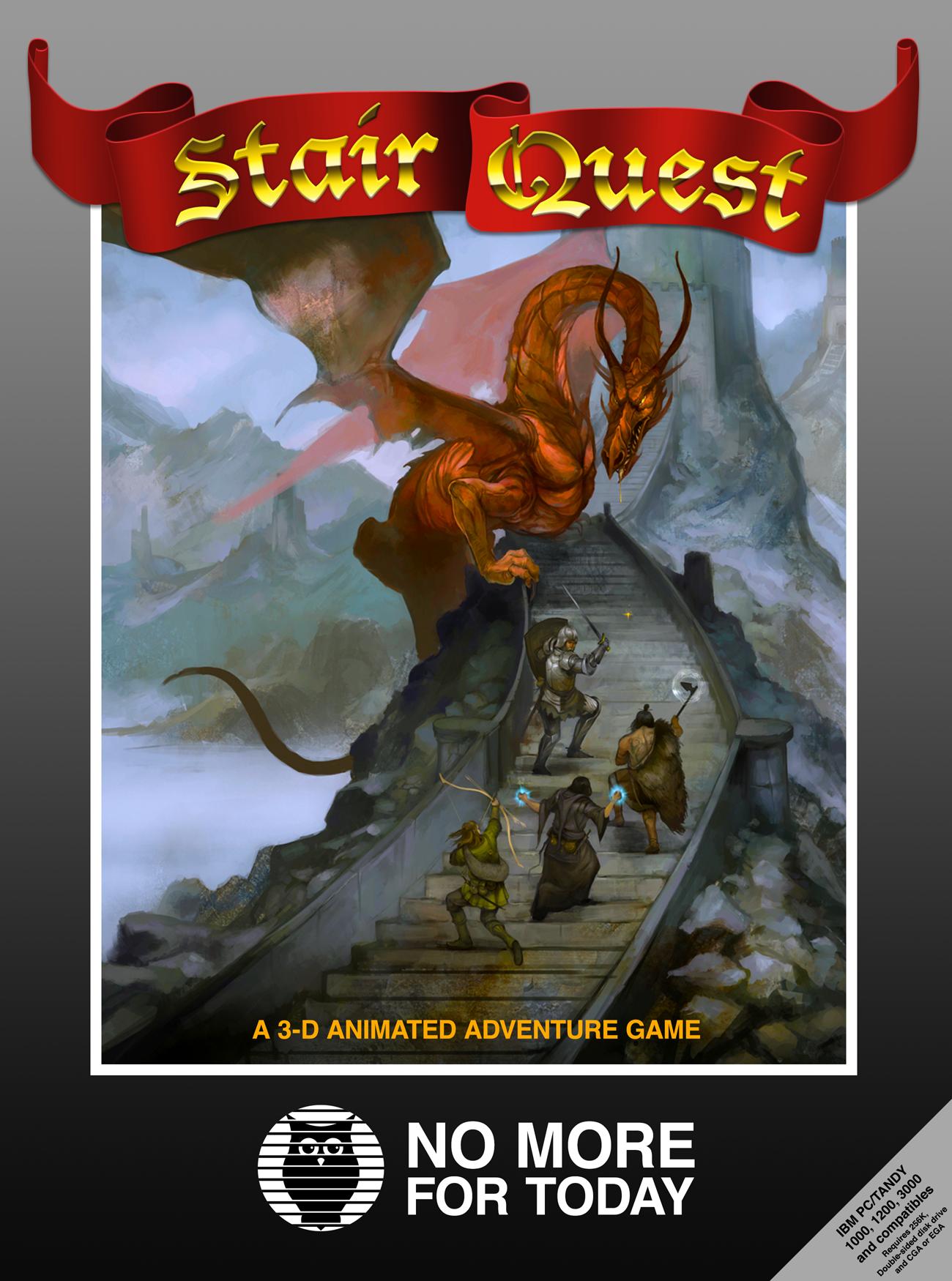 Screenshot 3 of Stair Quest width=