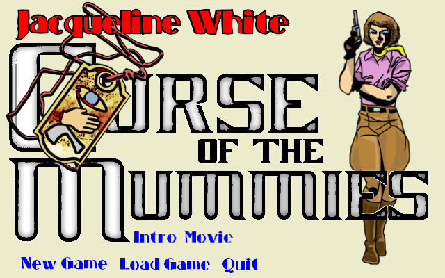 Zoomed screenshot of Jacqueline White - Curse of the Mummies