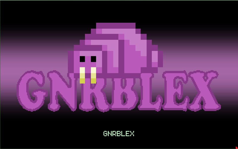 Zoomed screenshot of GNRBLEX (MAGS version)
