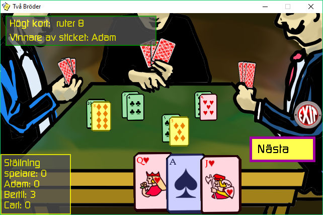Screenshot 2 of Two Brothers - a Card Game width=