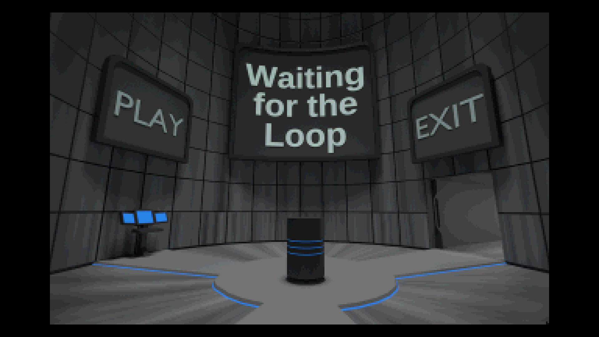 Zoomed screenshot of Waiting For The Loop