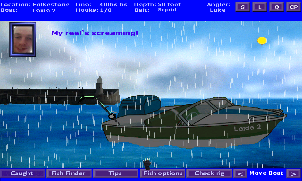 Screenshot 2 of Gone Boat Fishin' width=