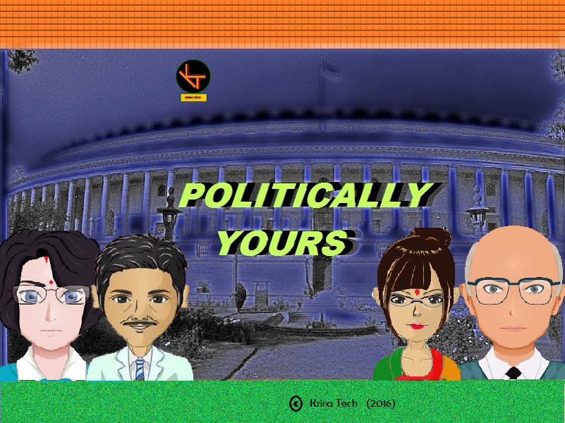 Zoomed screenshot of Politically Yours