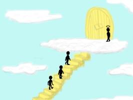 Screenshot 1 of Three Guys Walk Into Heaven