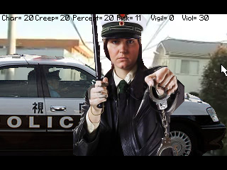 Zoomed screenshot of Pickpocket RPG