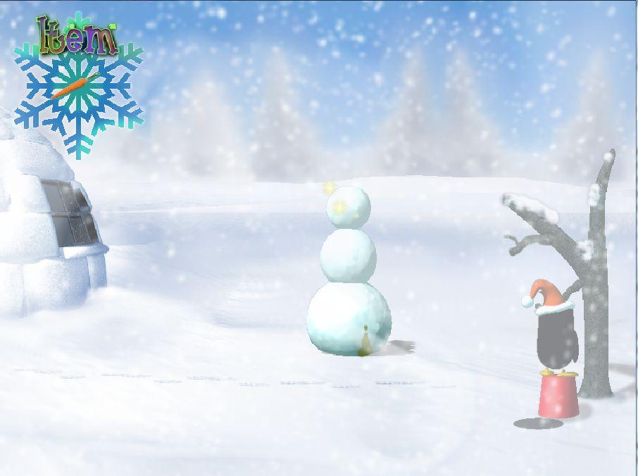Screenshot 3 of Penga & Obcster's Christmish Adventure