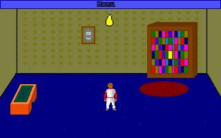 Zoomed screenshot of Escape From a Small Room 1: The walls are closing in