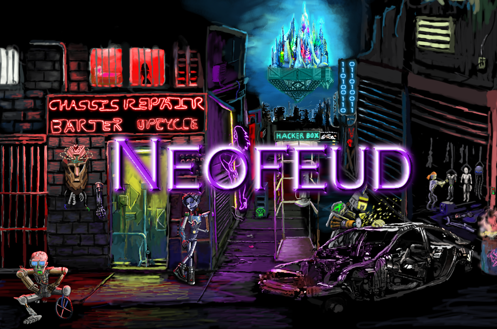 Zoomed screenshot of Neofeud