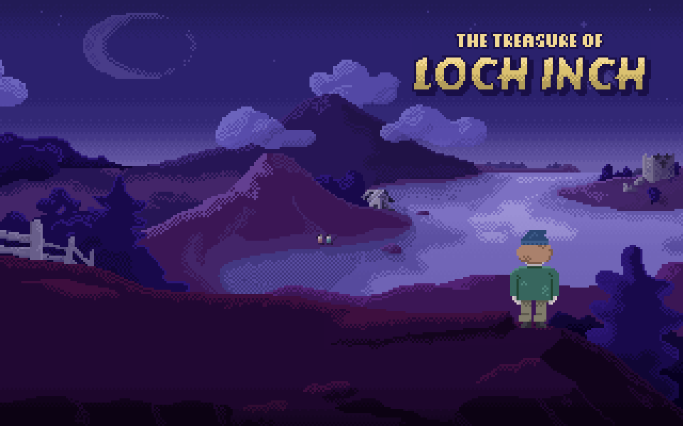 Zoomed screenshot of The Treasure of Loch Inch