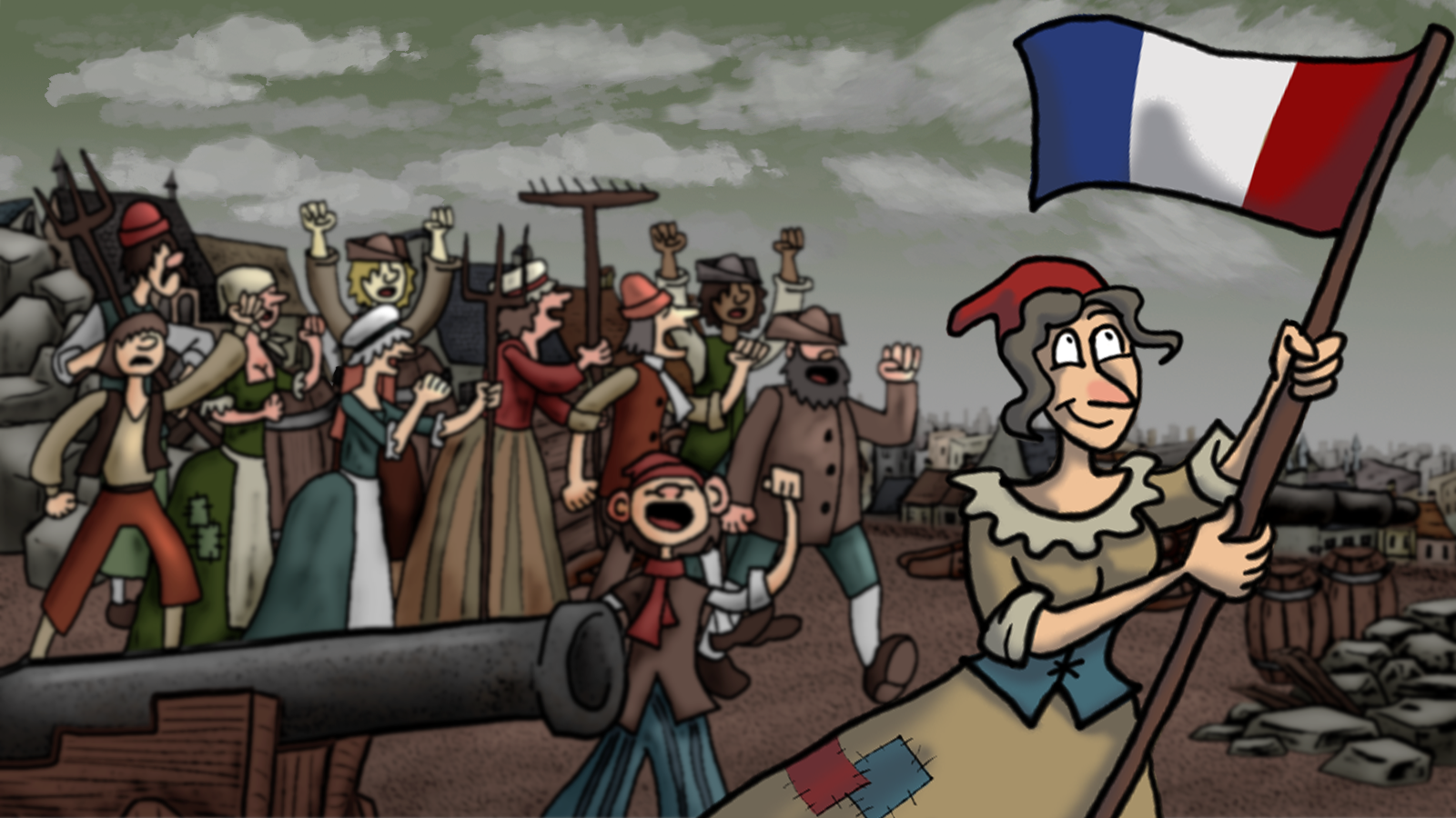 Screenshot of Bustin' the Bastille