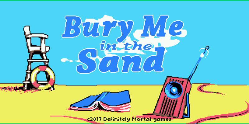 Screenshot of Bury Me in the Sand