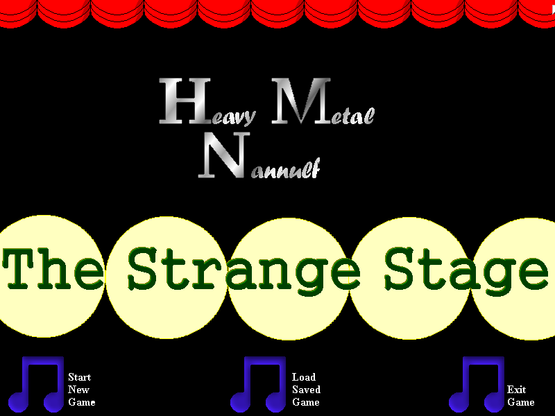 Screenshot of Heavy Metal Nannulf: The Strange Stage