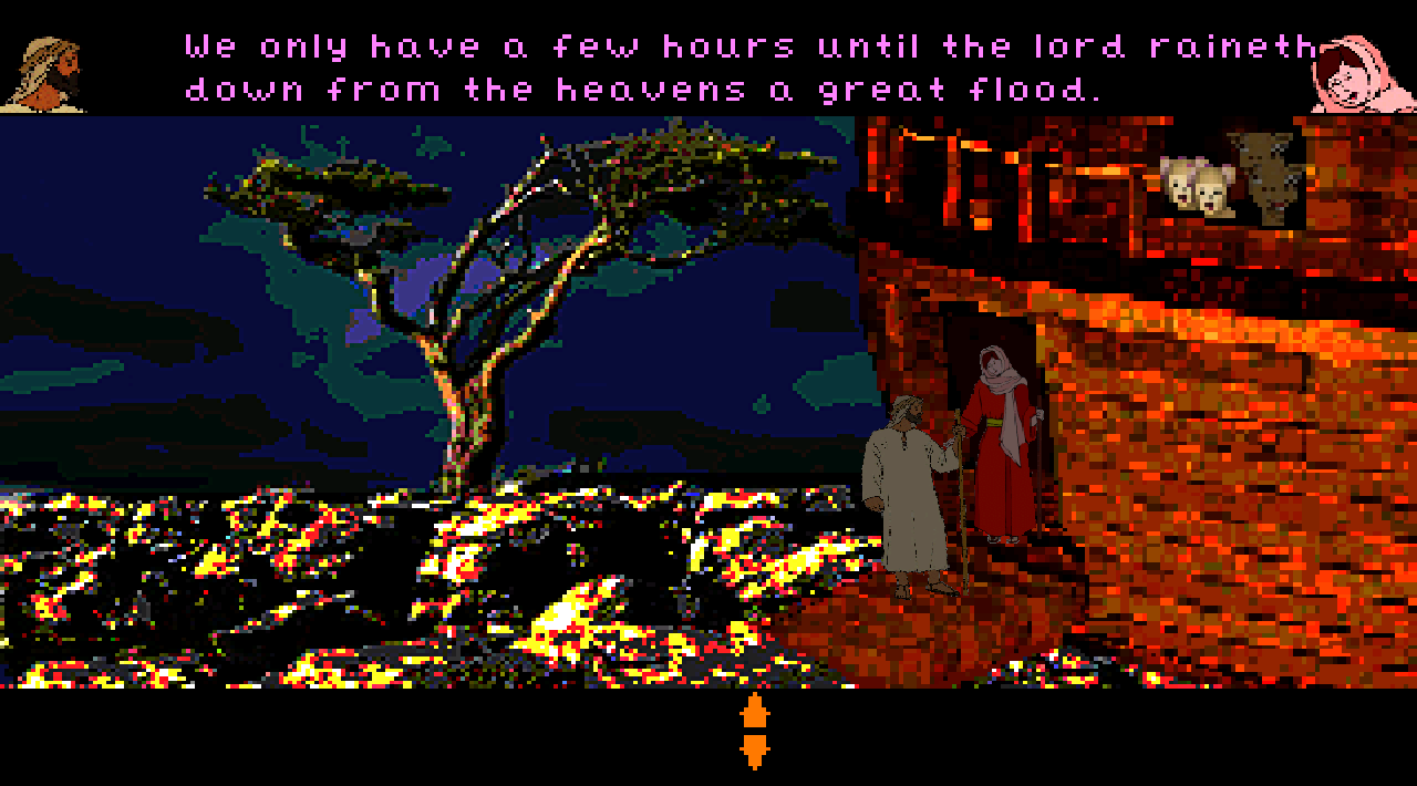 Screenshot of Noah's Quest