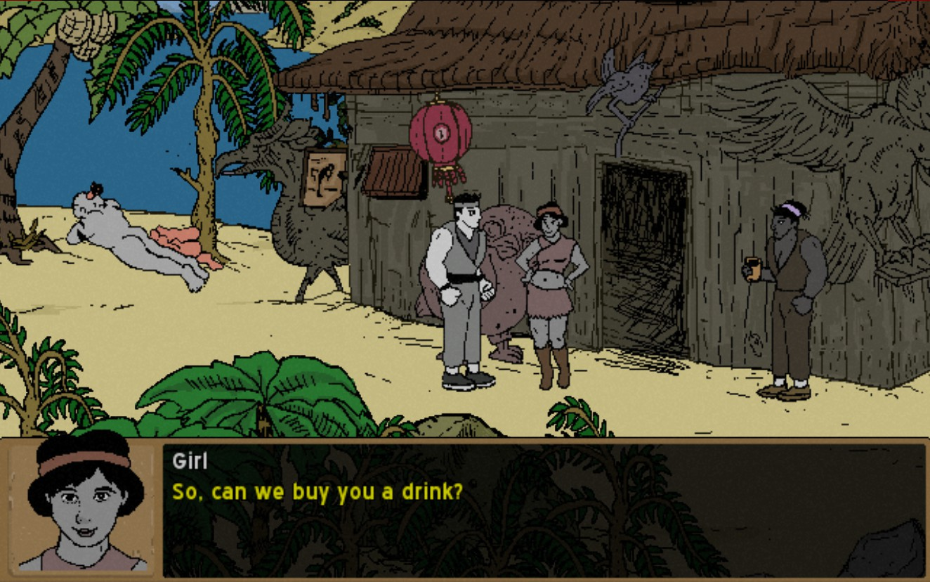 Screenshot of Legend of Hand
