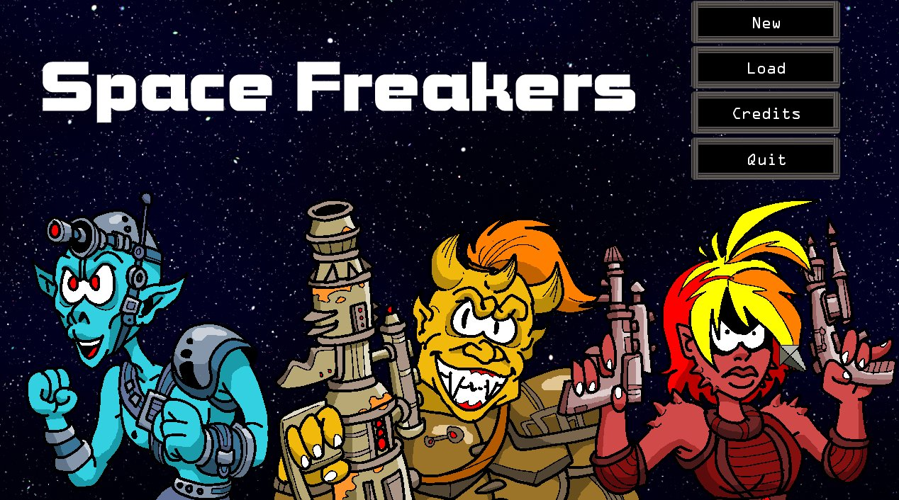 Screenshot of Space Freakers