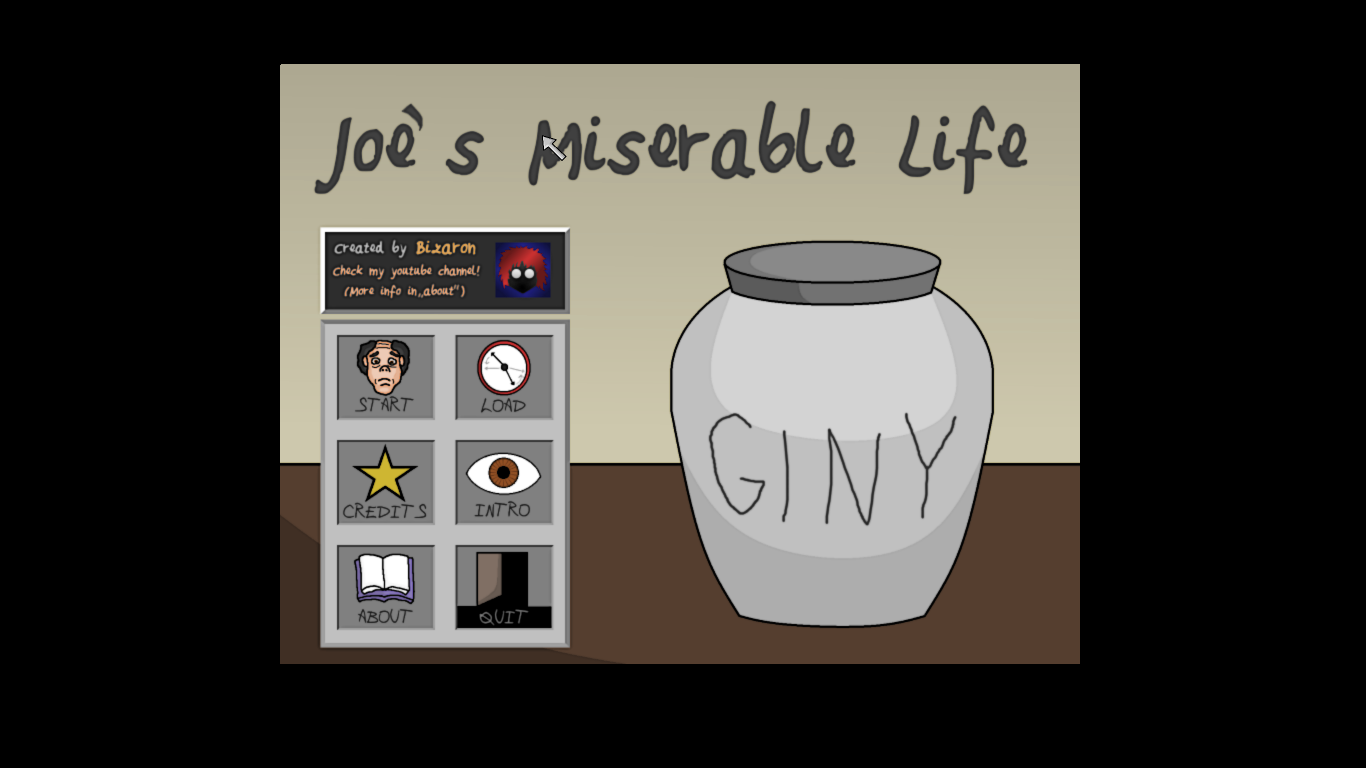 Screenshot of Joe's Miserable Life