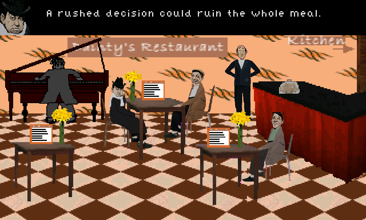 Screenshot of The Gourmet