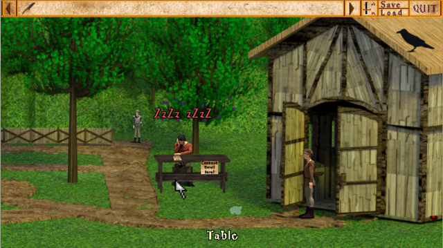 Screenshot 2 of Stable Pete and the Joust (DEMO) width=