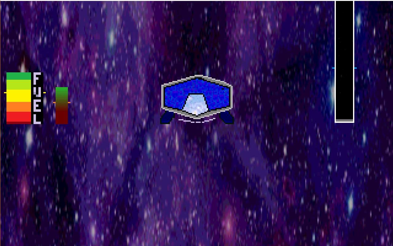 Screenshot of Lunar Lander