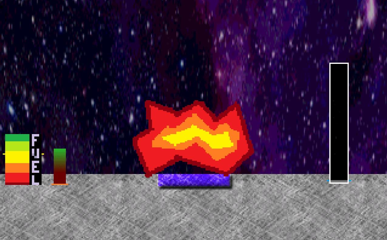 Screenshot 2 of Lunar Lander