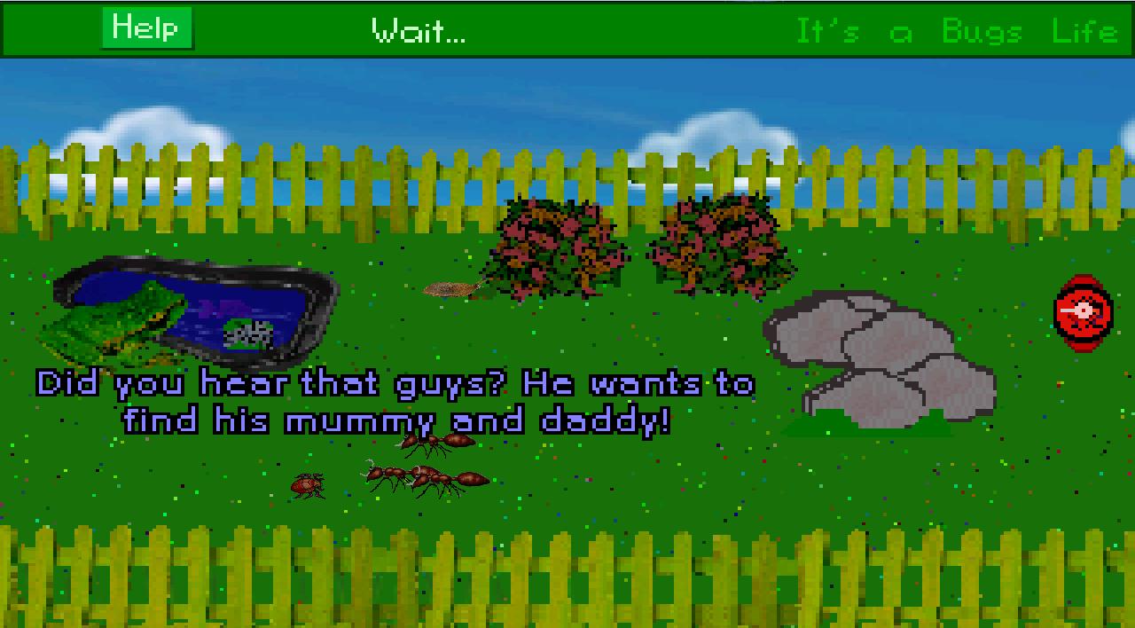Screenshot of It's a Bugs Life
