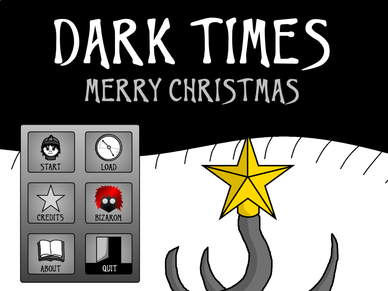 Zoomed screenshot of Dark Times: Merry Christmas