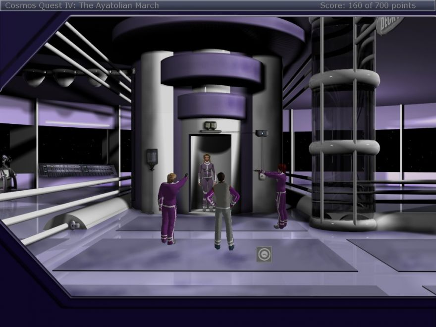 Zoomed screenshot of Cosmos Quest IV