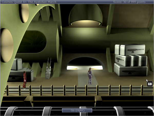 Screenshot 3 of Cosmos Quest IV width=